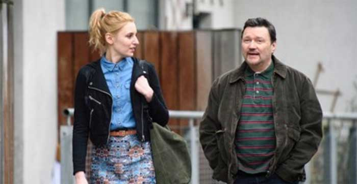 Laura Carmichael and Ian Puleston-Davies in Marcella