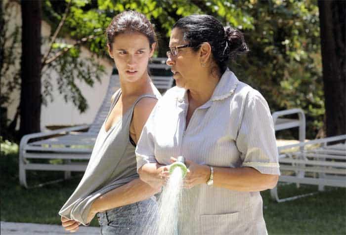 Regina Casé and Camila Márdila in The Second Mother