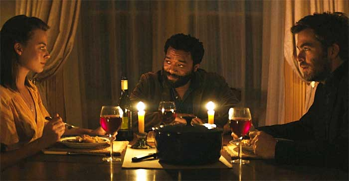 Chiwetel Ejiofor, Chris Pine, Margot Robbie in Z for Zachariah
