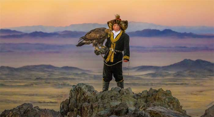Aisholpan in The Eagle Huntress