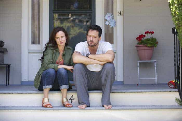 Juliette Lewis and Josh Hopkins in Kelly and Cal