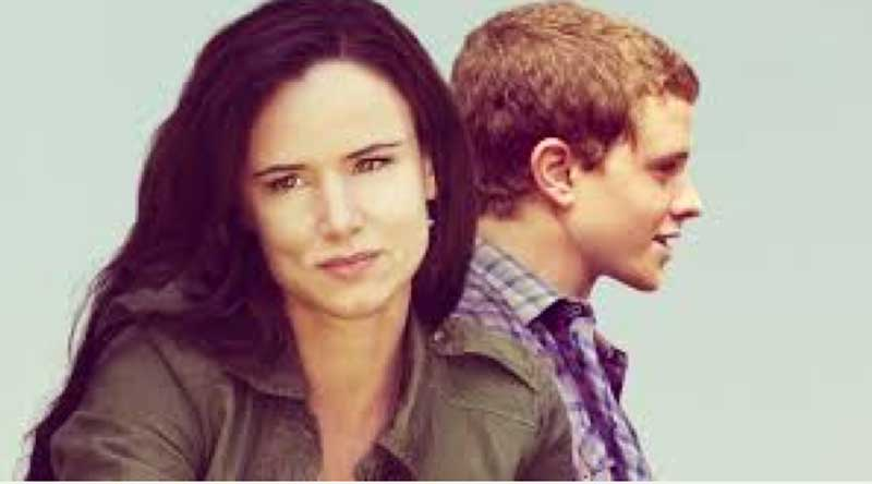 Juliette Lewis and Jonny Weston in Kelly and Cal