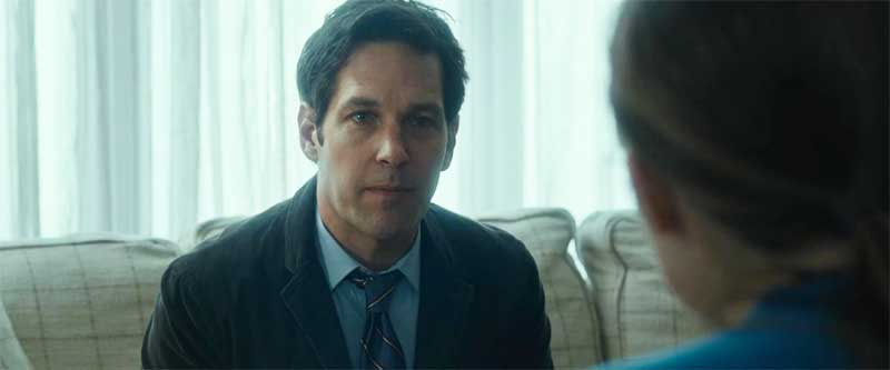 Paul Rudd in The Fundamentals of Caring