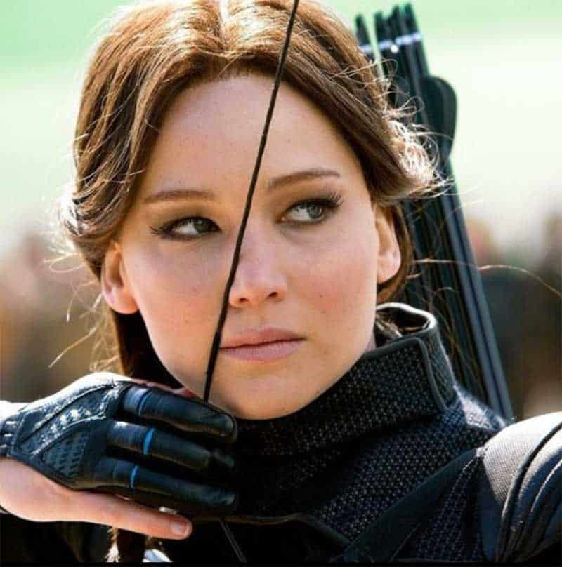 Jennifer Lawrence in The Hunger Games: Mockingjay part 2