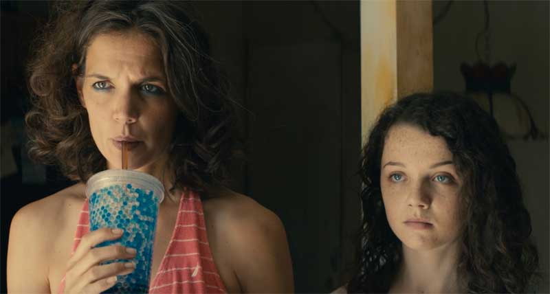 Katie Holmes and Stefania Owen in All We Had