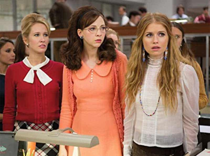 Anna Camp, Genevieve Angelson, and Erin Darke in Good Girls Revolt