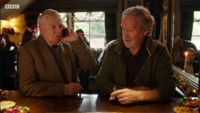 Derek Jacobi and Paul Copley in Last Tango in Halifax