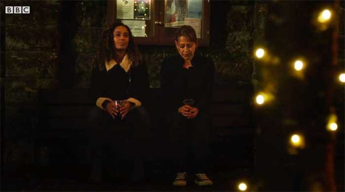 Lorraine Burroughs and Nicola Walker in Last Tango in Halifax