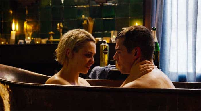 Tuppence Middleton and Brian J. Smith in Sense8