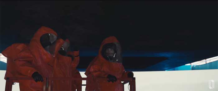 A scene from Arrival