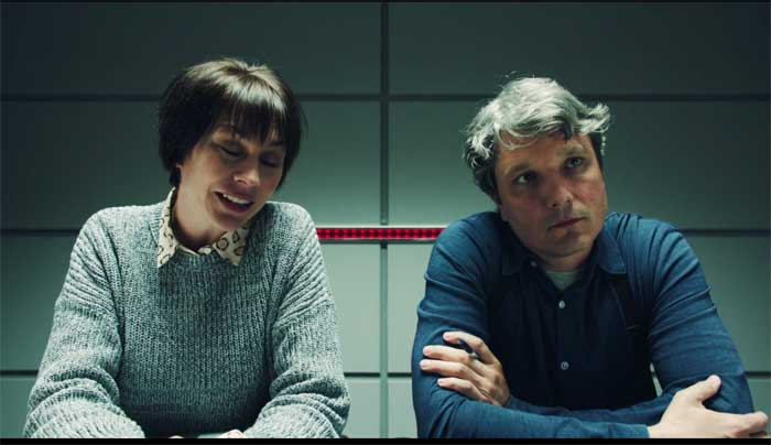 Christiane Paul and Dominik Tiefenthaler in Paranoid