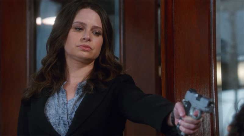 Katie Lowes in Scandal: Gladiator Wanted