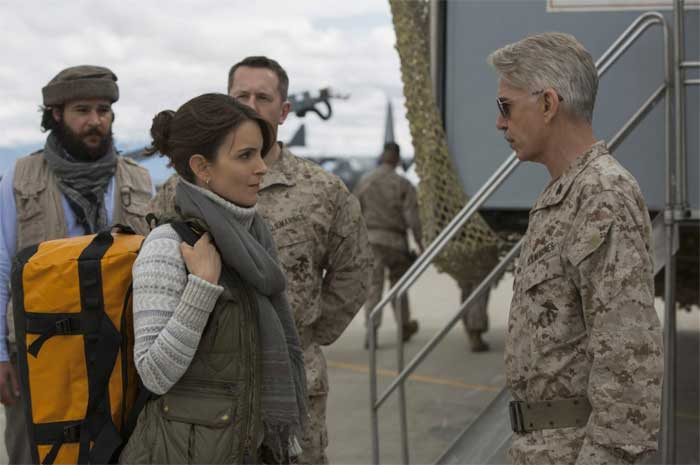 Tina Fey and Billy Bob Thornton in Whiskey Tango Foxtrot