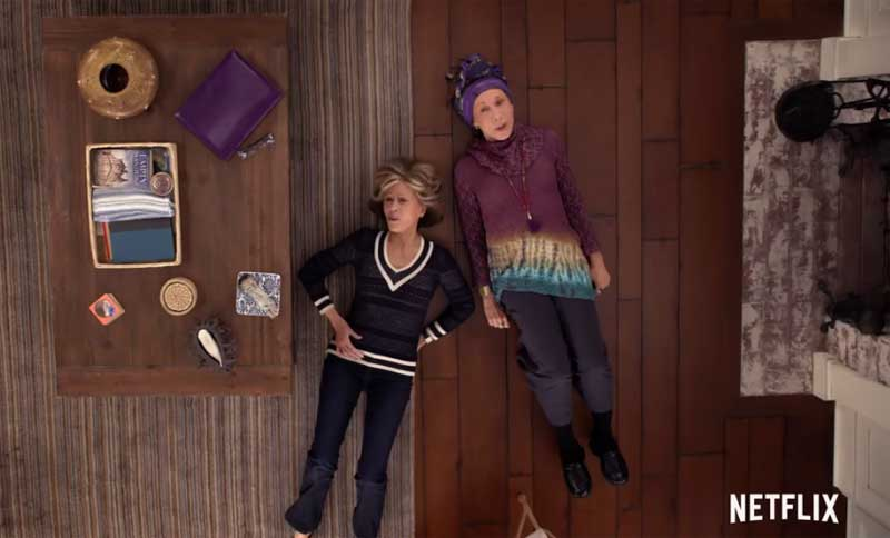 Watch This: Trailer for Season 3 of Grace and Frankie