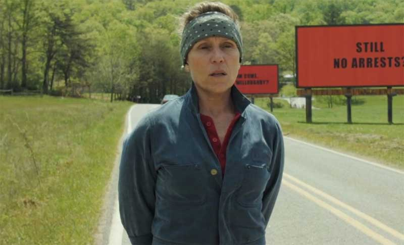 Watch This: Trailer for Three Billboards Outside Ebbing, Missouri