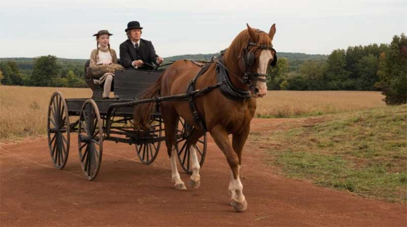 Amybeth McNulty and R.H. Thomson in Anne with An E