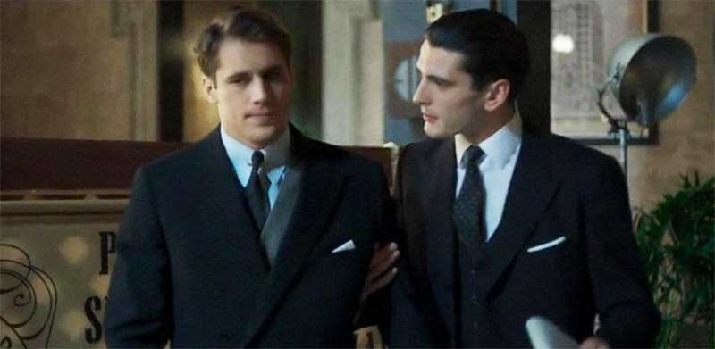 Martiño Rivas and Yon González in Cable Girls