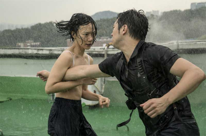 Doona Bae and Sukku Son in Sense8