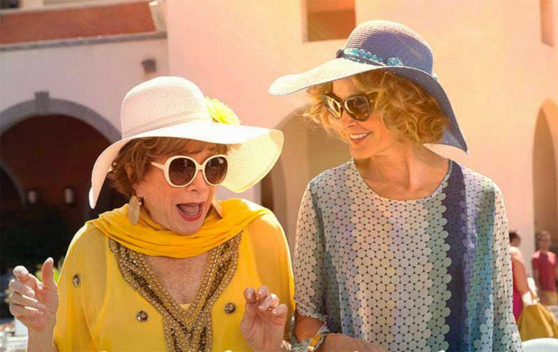 Shirley MacLaine and Jessica Lange in Wild Oats