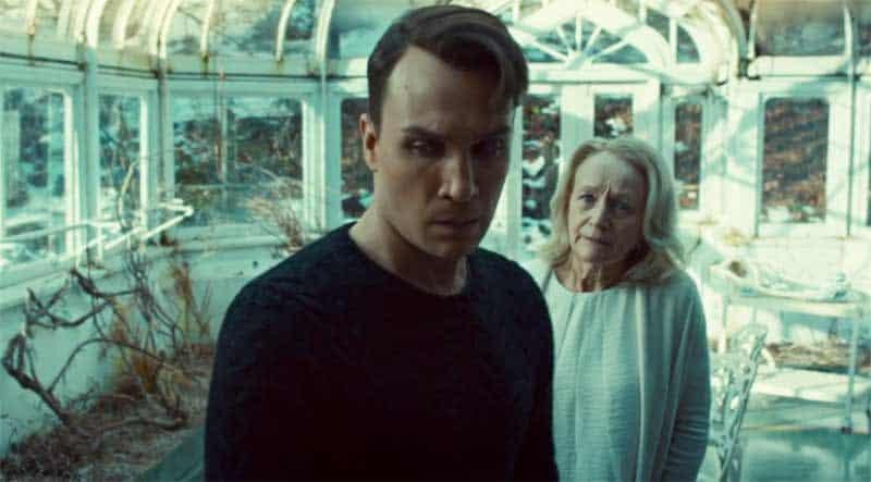 Ari Millen and Rosemary Dunsmore in Orphan Black