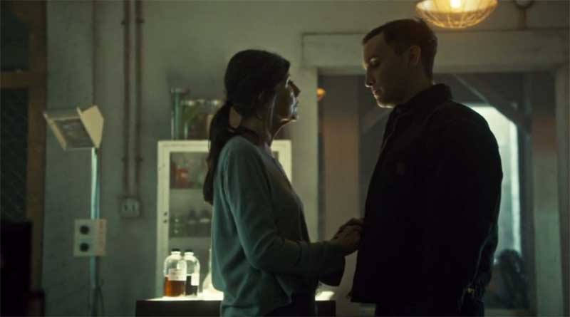 Kyra Harper and Ari MIllen in Orphan Black