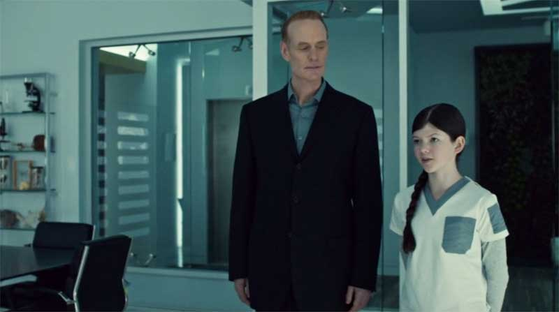 Matt Frewer and Cynthia Galant in Orphan Black
