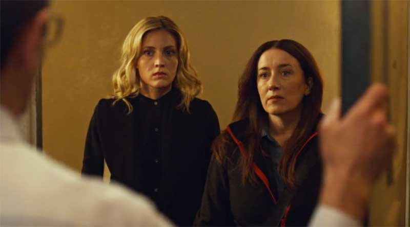 Evelyne Brochu and Maria Doyle Kennedy in Orphan Black