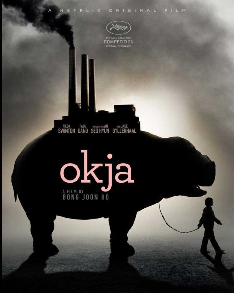 the okja poster