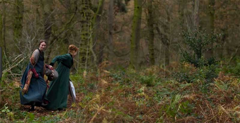 Maxine Peake and Anna Madeley in The Secret Diaries of Miss Anne Lister
