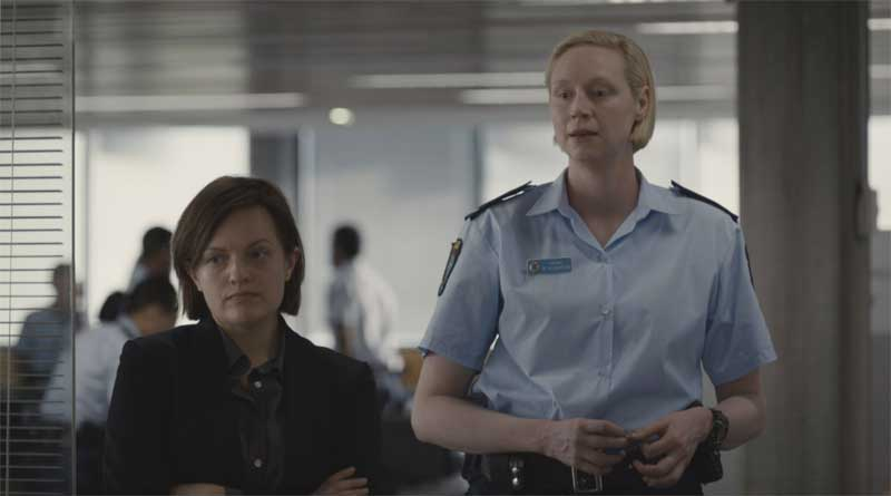 Elisabeth Moss and Gwendoline Christie in Top of the Lake China Girl