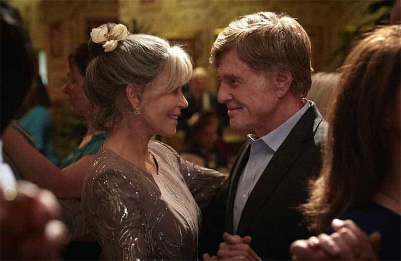 Jane Fonda and Robert Redford in Our Souls at Night