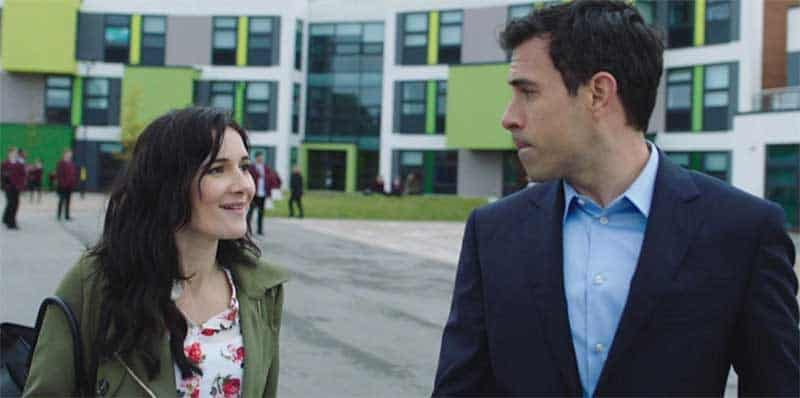 Sarah Solemani, Tom Cullen in The Five