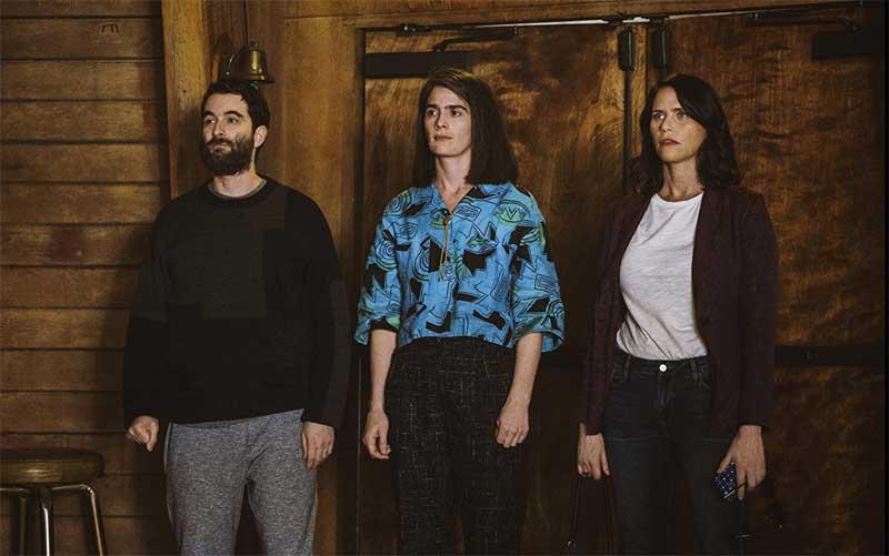 Jay Duplass, Amy Landecker, and Gaby Hoffmann in Transparent