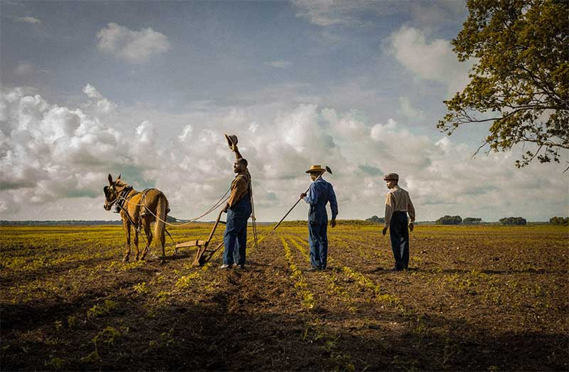 a scene from Mudbound