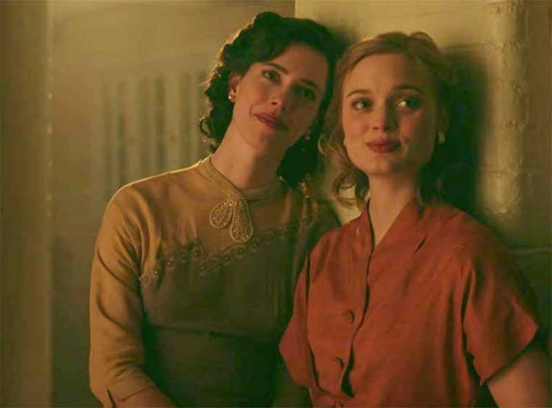 Rebecca Hall and Bella Heathcote in Professor Marston and the Wonder Women