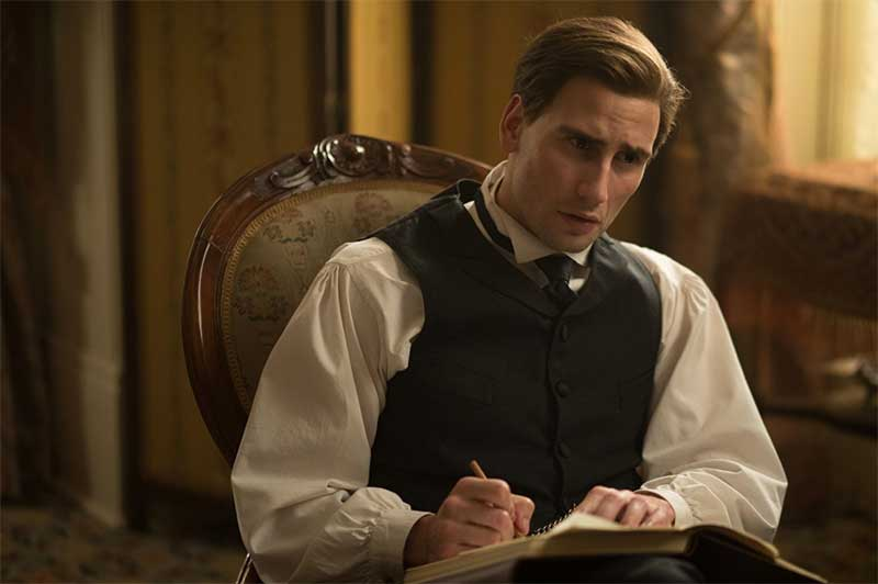 Edward Holcroft in Alias Grace