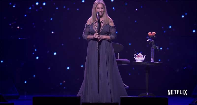 Barbra Streisand in Barbra: The Music...The Mem'ries...The Magic!