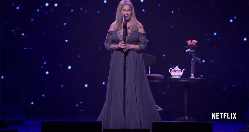 Barbra Streisand in Barbra: The Music...The Mem'ries...The Magic!