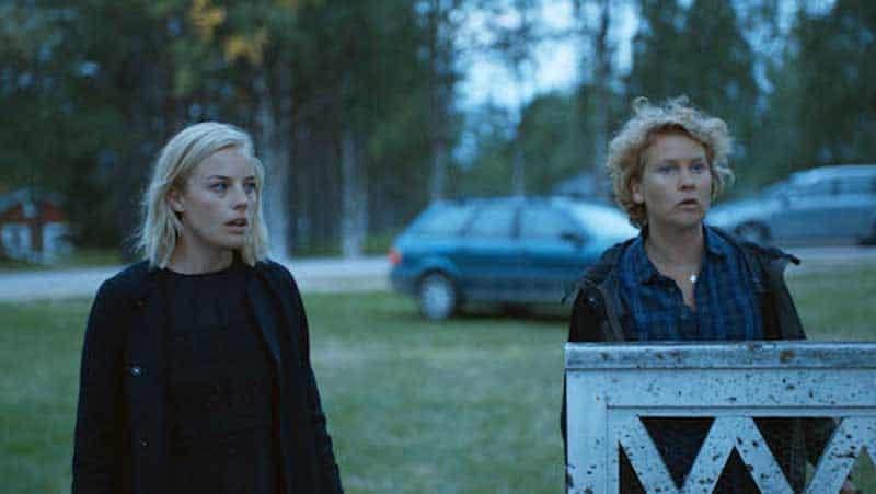 Ida Engvoll and Eva Melander in Rebecka Martinsson