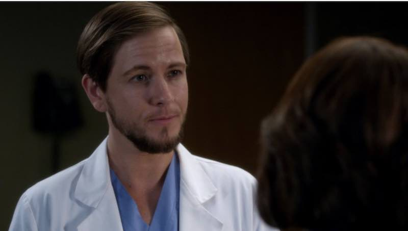 Alex Blue Davis in Grey's Anatomy