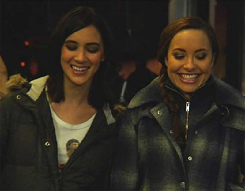 Rachael Hip-Flores and Nicole Pacent in Anyone But Me