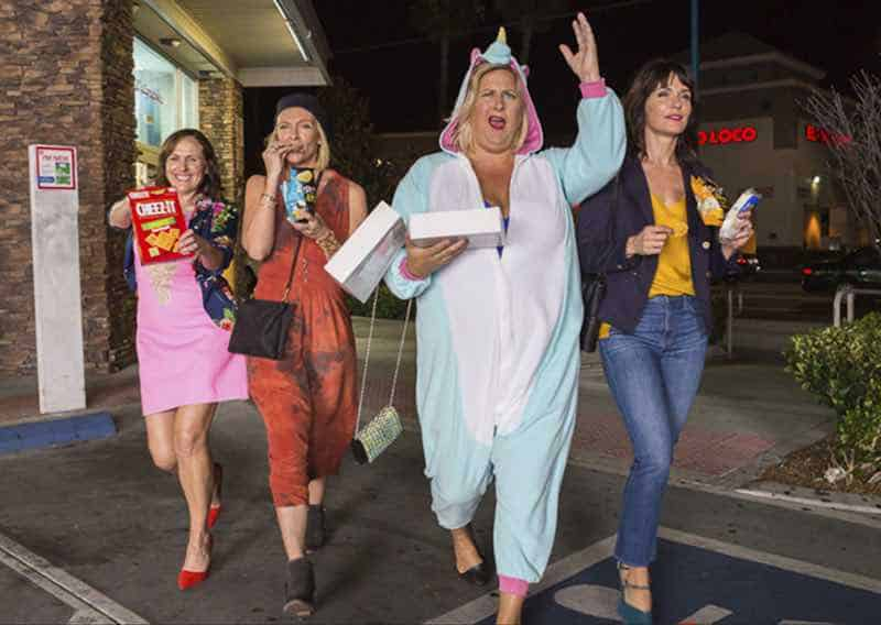 Toni Collette, Molly Shannon, Bridget Everett, Katie Aselton in Fun Mom Dinner