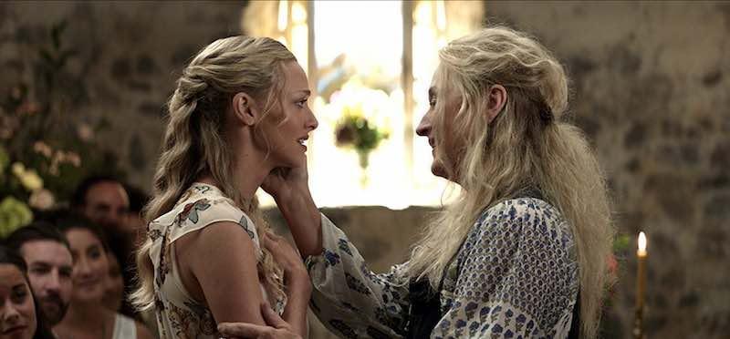 Meryl Streep and Amanda Seyfried in Mamma Mia! Here We Go Again