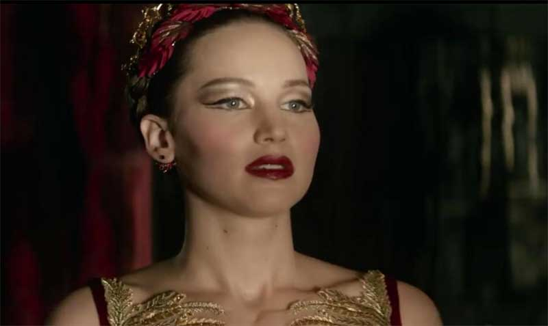 Watch This: New Trailer for Red Sparrow