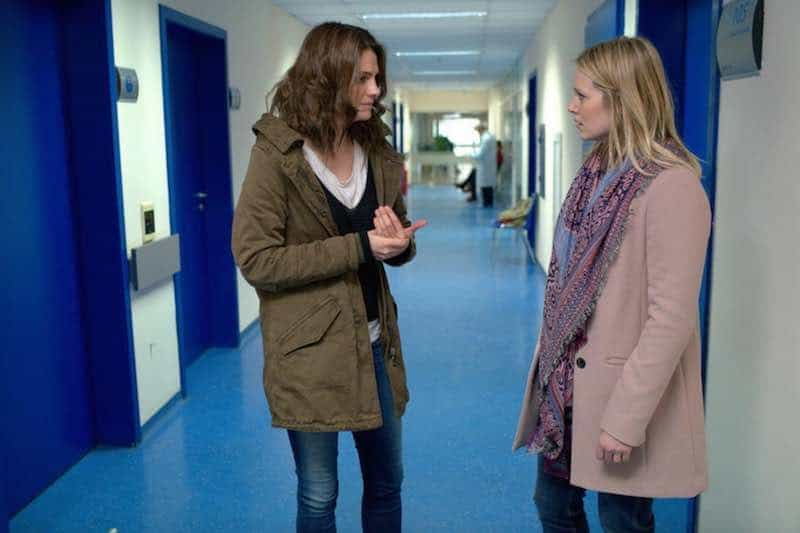 Stana Katic and Cara Theobold in Absentia