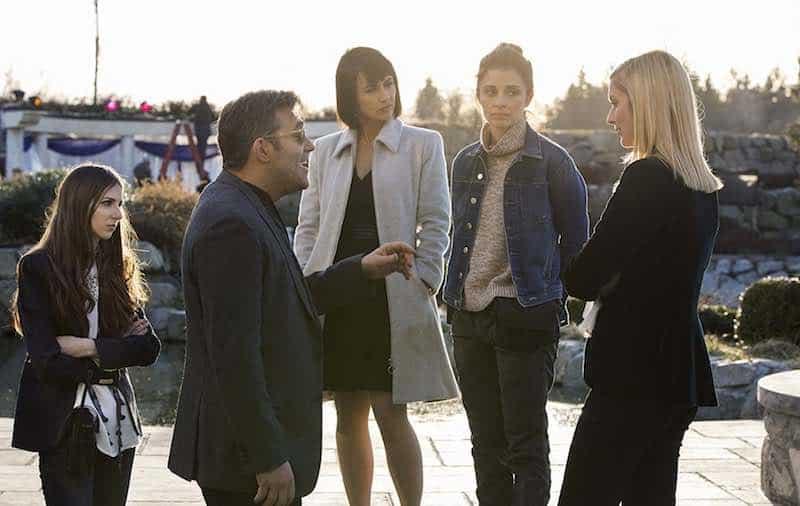 Shiri Appleby, Craig Bierko, Constance Zimmer, Genevieve Buechner, and Caitlin FitzGerald in UnREAL