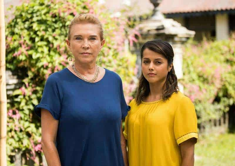 Amanda Redman and Amrita Acharia in Good Karma Hospital