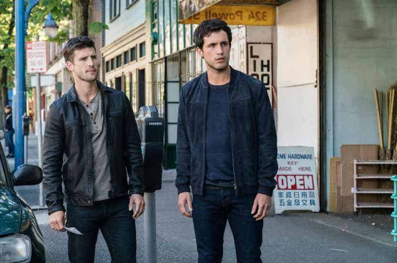 Parker Young and Rob Heaps in Imposters