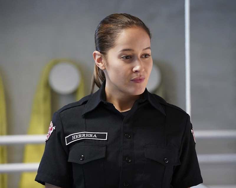 Jaina Lee Ortiz in Station 19