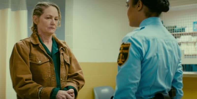 Melissa Leo and Tessa Thompson in Furlough